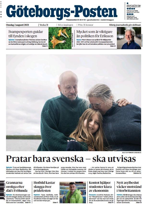 Read full digital edition of Goteborgs-Posten newspaper from Sweden