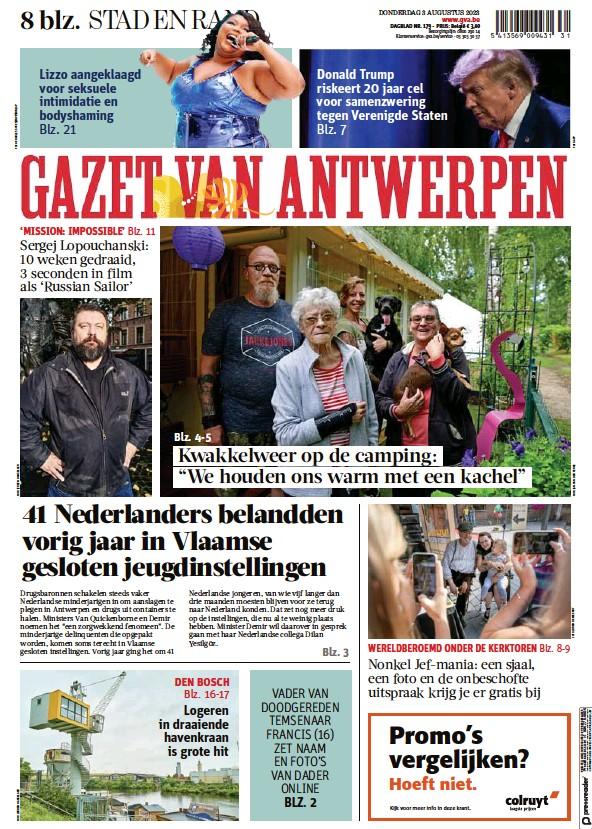 Read full digital edition of Gazet Van Antwerpen Metropool Stad newspaper from Belgium