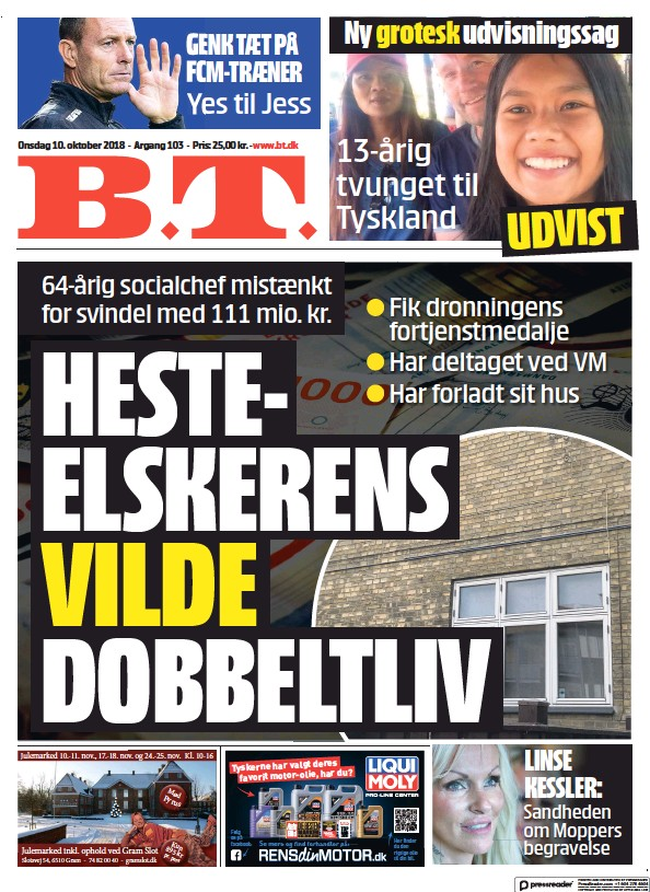 Read full digital edition of BT newspaper from Denmark