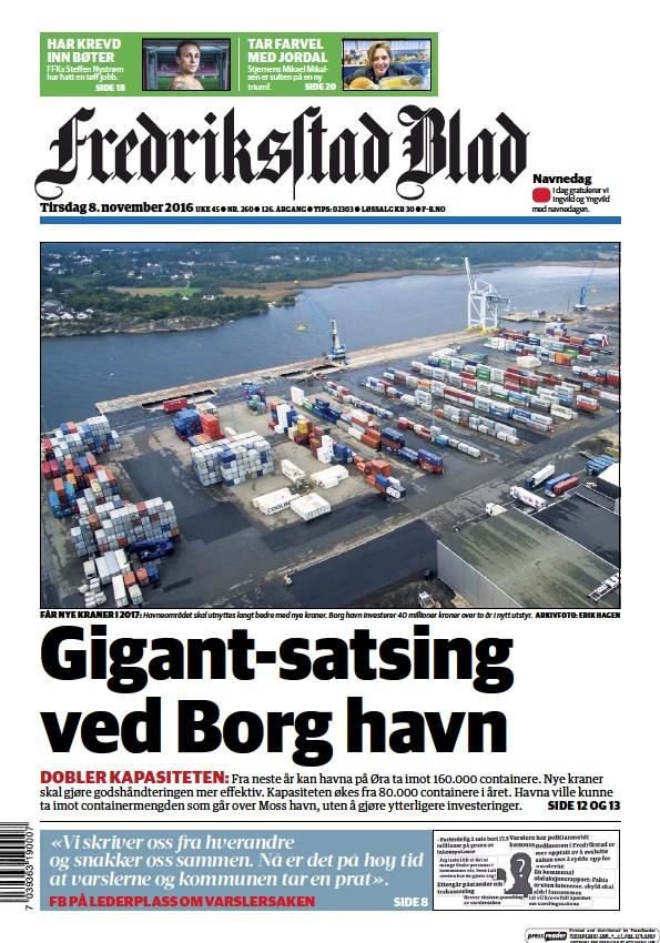 Read full digital edition of Fredriksstad Blad newspaper from Norway