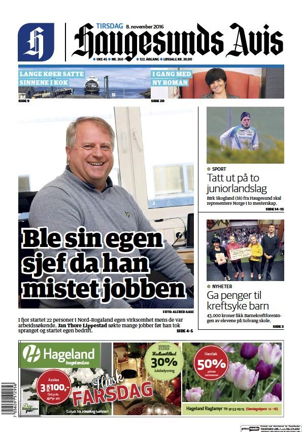 Read full digital edition of Haugesunds Avis newspaper from Norway