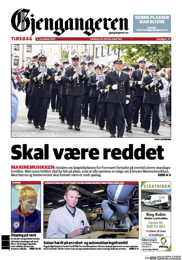 Read full digital edition of Gjengangeren newspaper from Norway