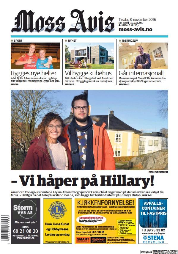 Read full digital edition of Moss Avis newspaper from Norway