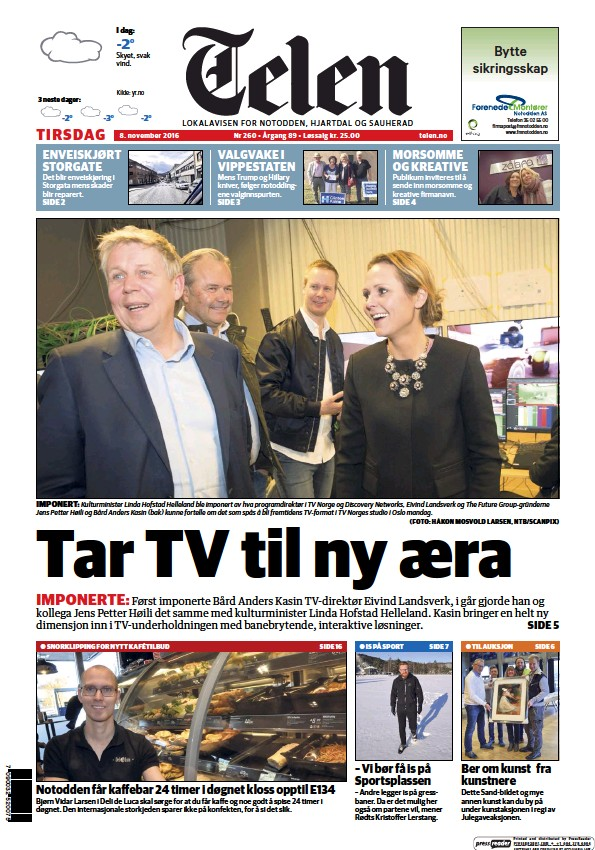 Read full digital edition of Telen newspaper from Norway