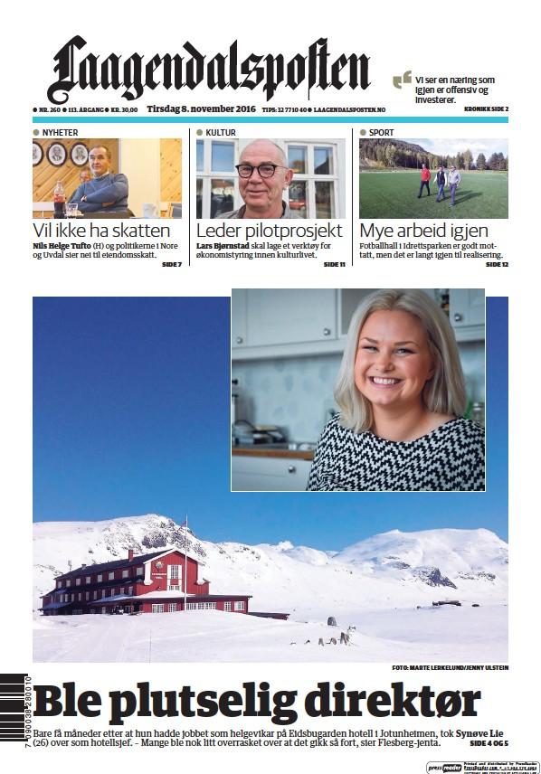 Read full digital edition of Laagendalsposten newspaper from Norway