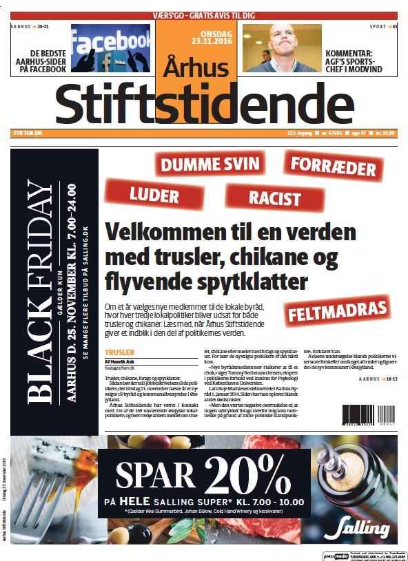 Read full digital edition of Arhus Stiftstidende newspaper from Denmark