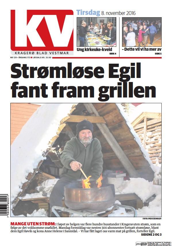 Read full digital edition of Kragero Blad Vestmar newspaper from Norway