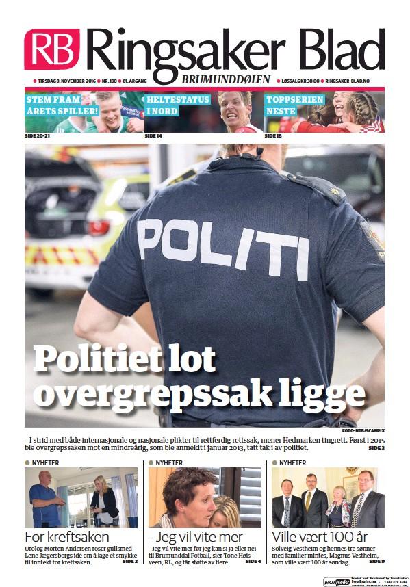 Read full digital edition of Ringsaker Blad newspaper from Norway
