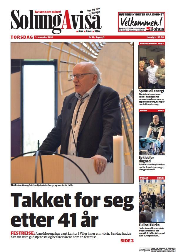 Read full digital edition of Solung Avisa newspaper from Norway