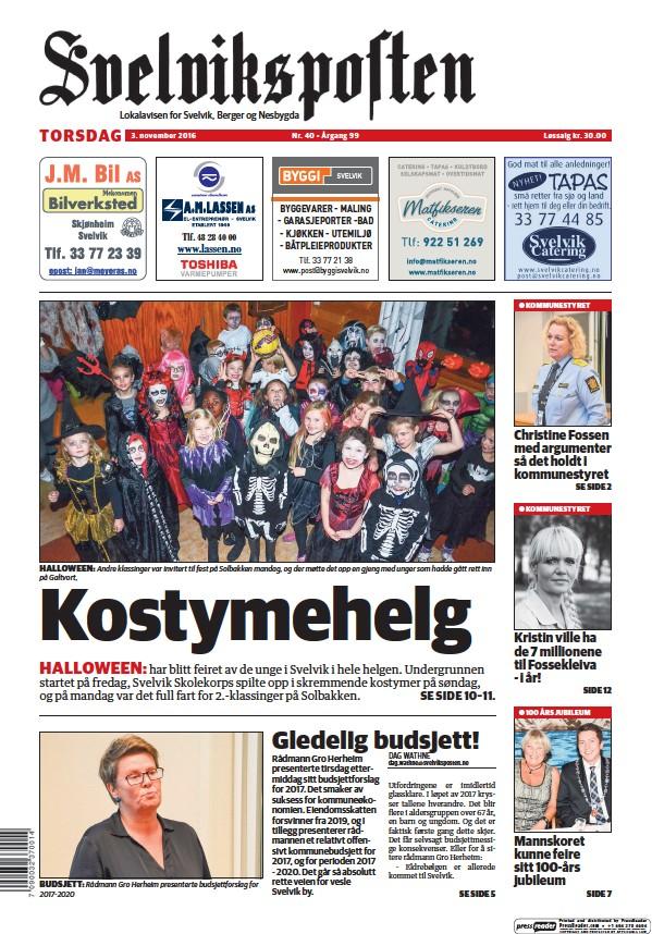 Read full digital edition of Svelviksposten newspaper from Norway