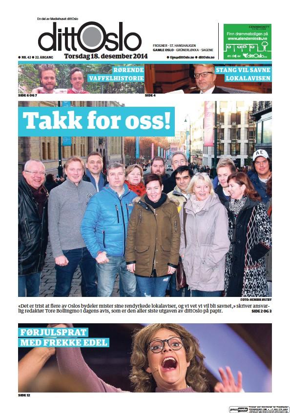 Read full digital edition of Ostkantavisa Gamle Oslo newspaper from Norway