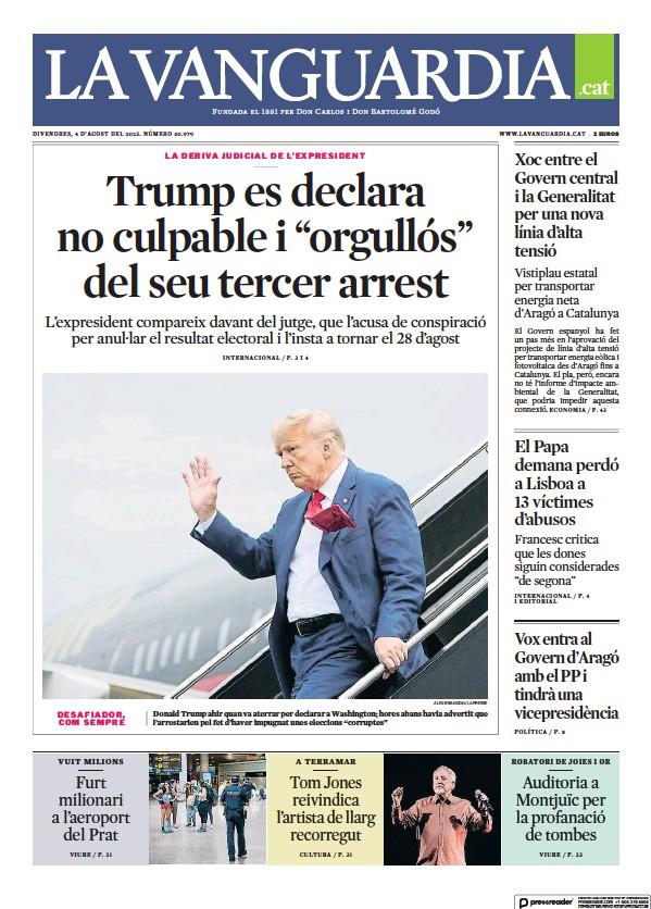 Read full digital edition of La Vanguardia (Catalan) newspaper from Spain