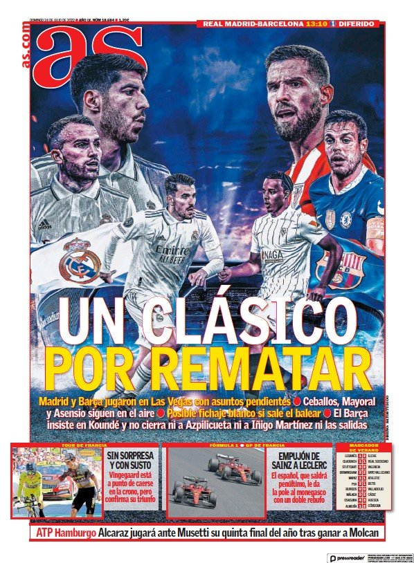 Read full digital edition of Diario AS (Levante) newspaper from Spain