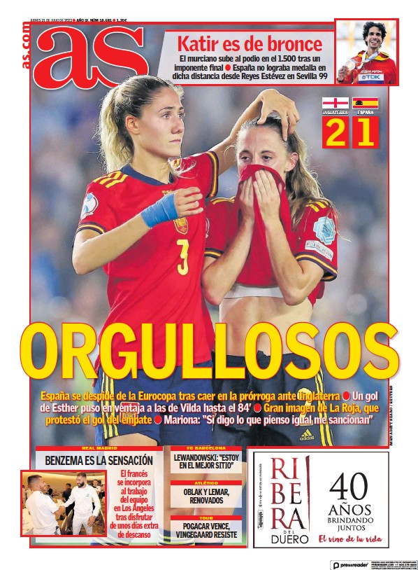 Read full digital edition of Diario AS (Las Palmas) newspaper from Spain