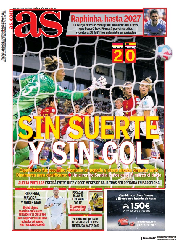 Read full digital edition of Diario AS (Andalucia) newspaper from Spain