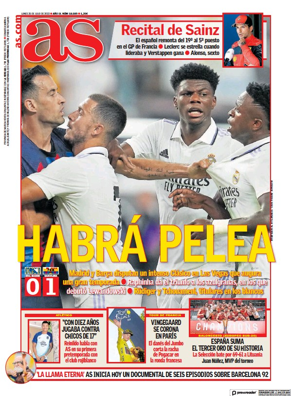 Read full digital edition of Diario AS (Valencia) newspaper from Spain