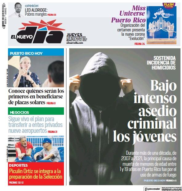 Read full digital edition of El Nuevo Dia newspaper from Puerto Rico