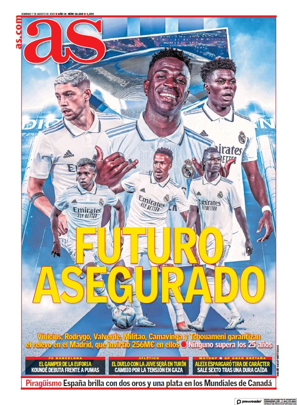 Read full digital edition of Diario As (Baleares) newspaper from Spain
