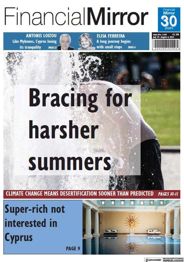 Read full digital edition of Financial Mirror (Cyprus) newspaper from Cyprus