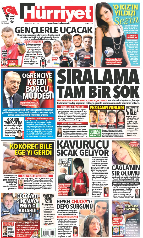 Read full digital edition of Hurriyet Print Edition newspaper from Turkey