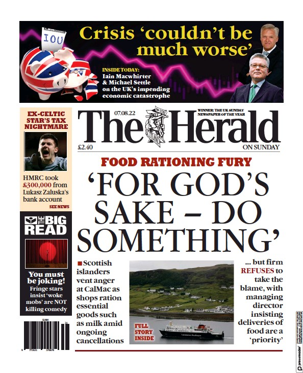 Read full digital edition of The Sunday Herald newspaper from Scotland
