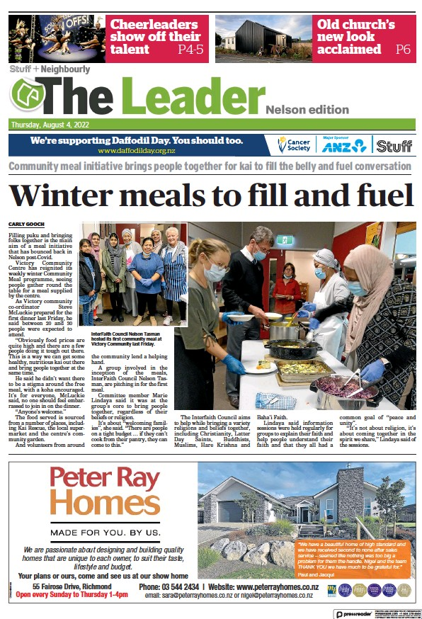 Read full digital edition of The Leader Nelson newspaper from New Zealand