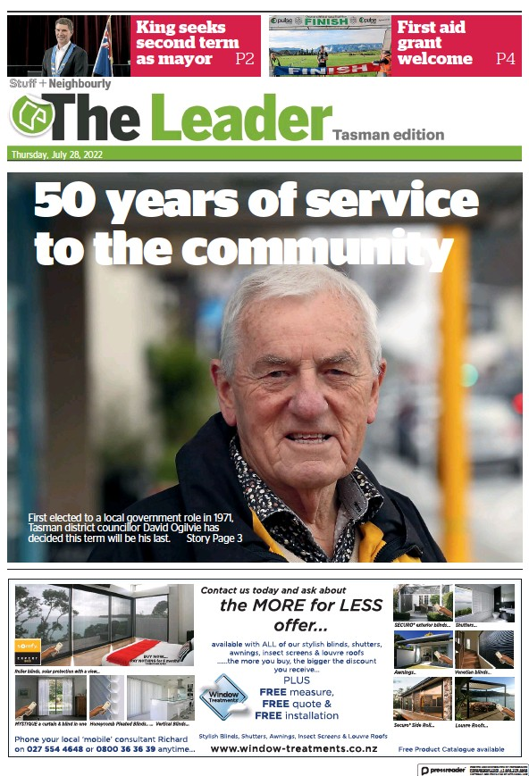 Read full digital edition of The Leader Richmond-Waimea newspaper from New Zealand