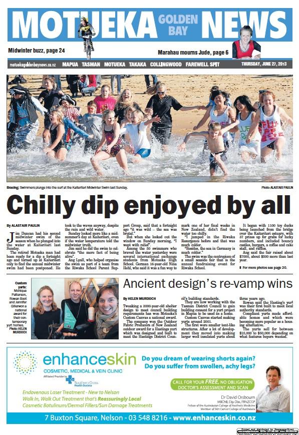 Read full digital edition of Motueka News newspaper from New Zealand
