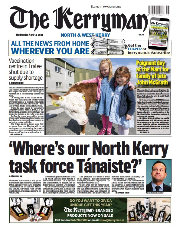 Read full digital edition of The Kerryman newspaper from Ireland
