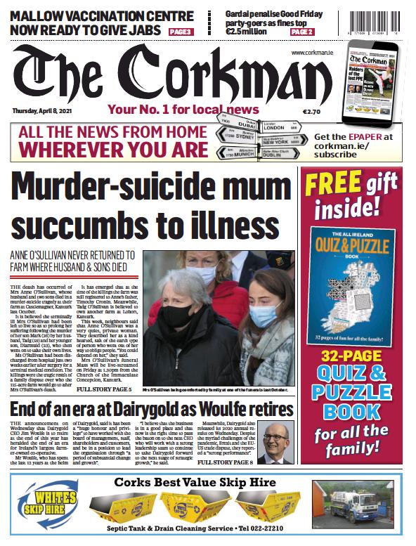 Read full digital edition of The Corkman newspaper from Ireland