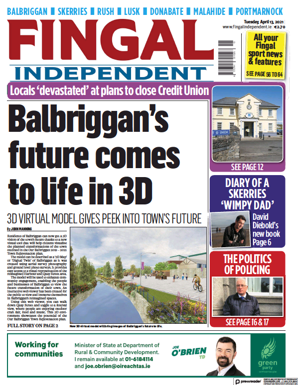 Read full digital edition of Fingal Independent newspaper from Ireland