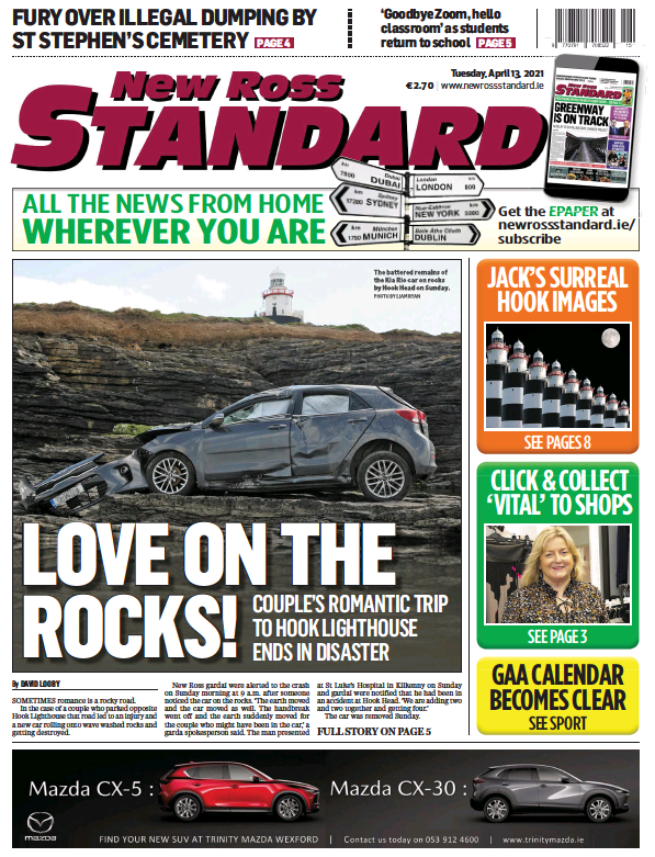 Read full digital edition of New Ross Standard newspaper from Ireland