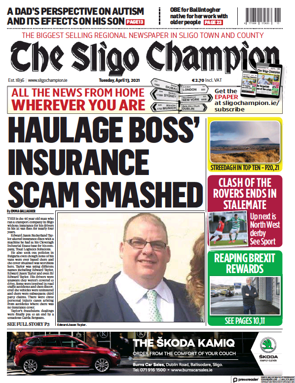 Read full digital edition of The Sligo Champion newspaper from Ireland