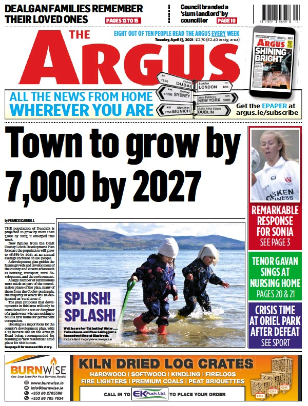 Read full digital edition of The Argus newspaper from Ireland