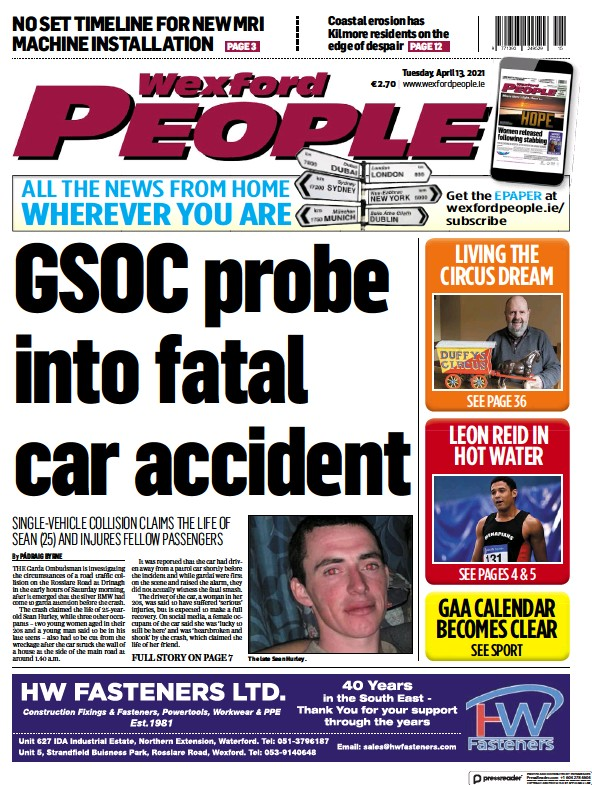 Read full digital edition of Wexford People newspaper from Ireland