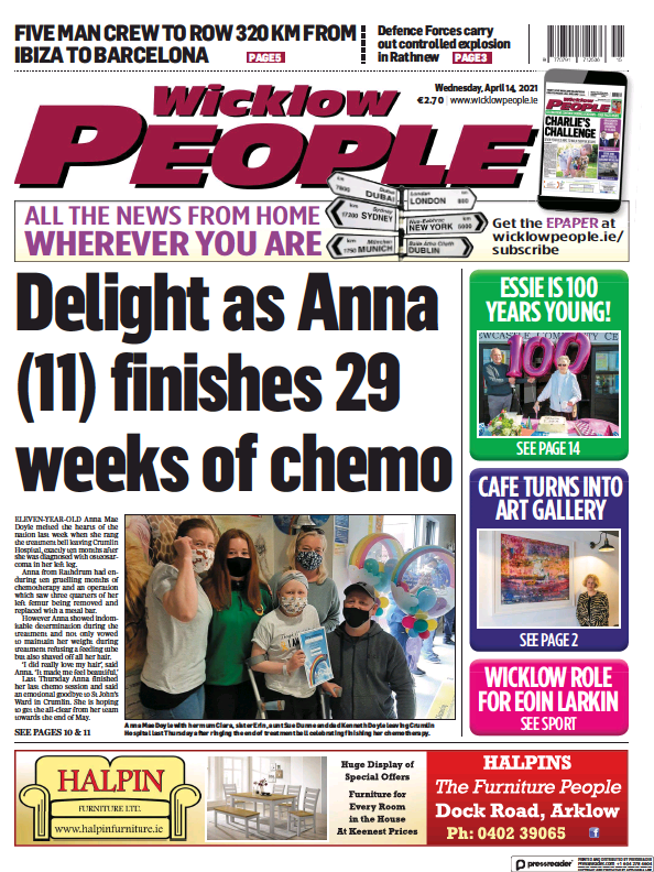 Read full digital edition of Wicklow People newspaper from Ireland
