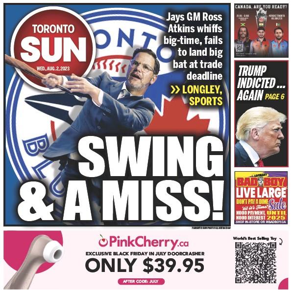 Read full digital edition of Toronto Sun newspaper from Canada