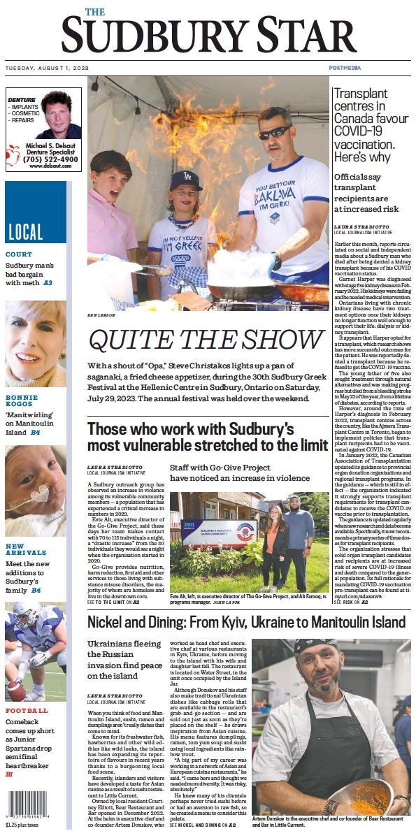 Read full digital edition of The Sudbury Star newspaper from Canada