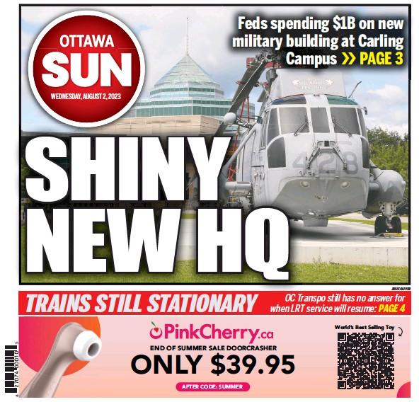 Read full digital edition of Ottawa Sun newspaper from Canada