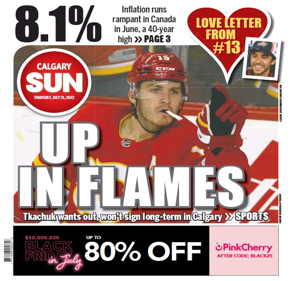 Read full digital edition of Calgary Sun newspaper from Canada