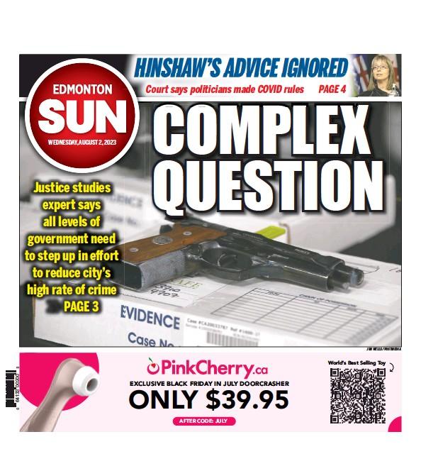 Read full digital edition of Edmonton Sun newspaper from Canada