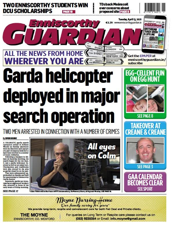 Read full digital edition of Enniscorthy Guardian newspaper from Ireland