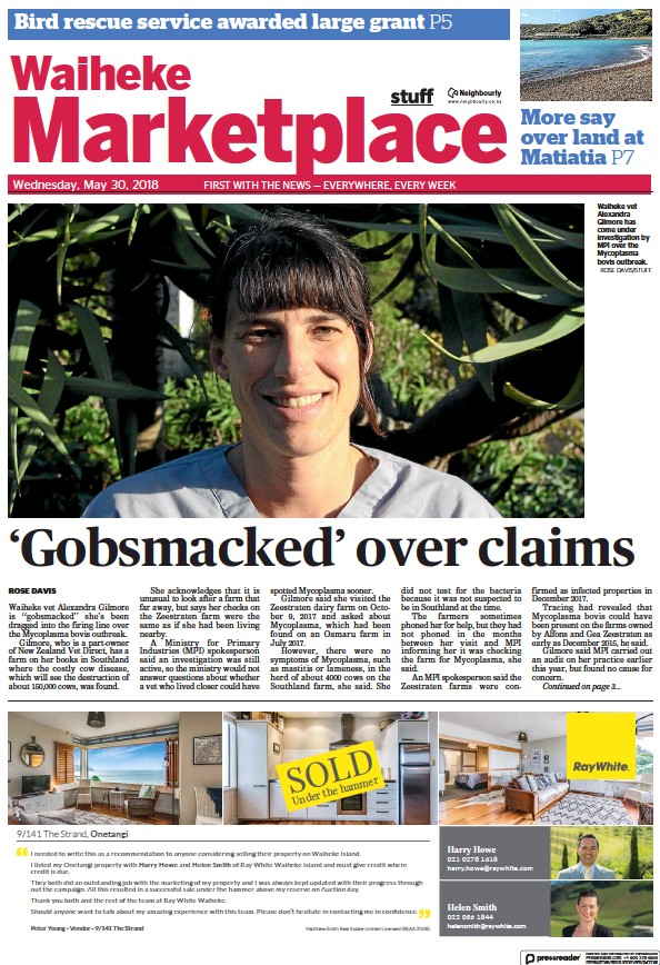 Read full digital edition of Waiheke Marketplace newspaper from New Zealand