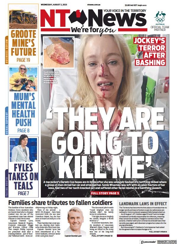 Read full digital edition of Northern Territory News newspaper from Australia