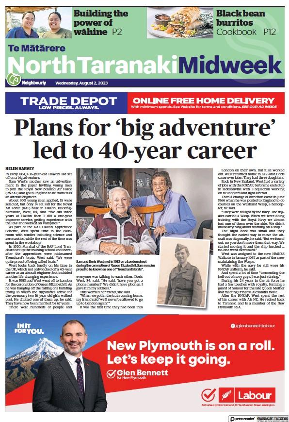 Read full digital edition of North Taranaki Midweek newspaper from New Zealand