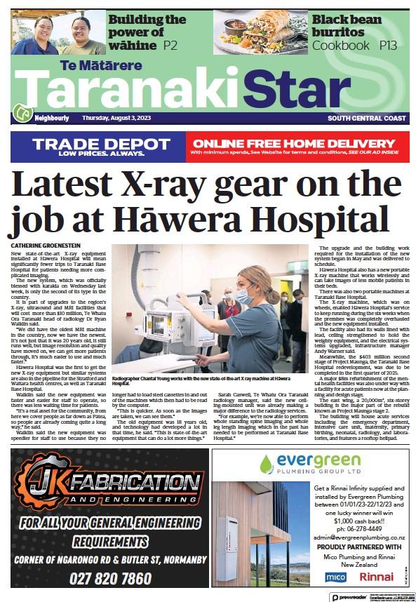 Read full digital edition of South Taranaki Star newspaper from New Zealand