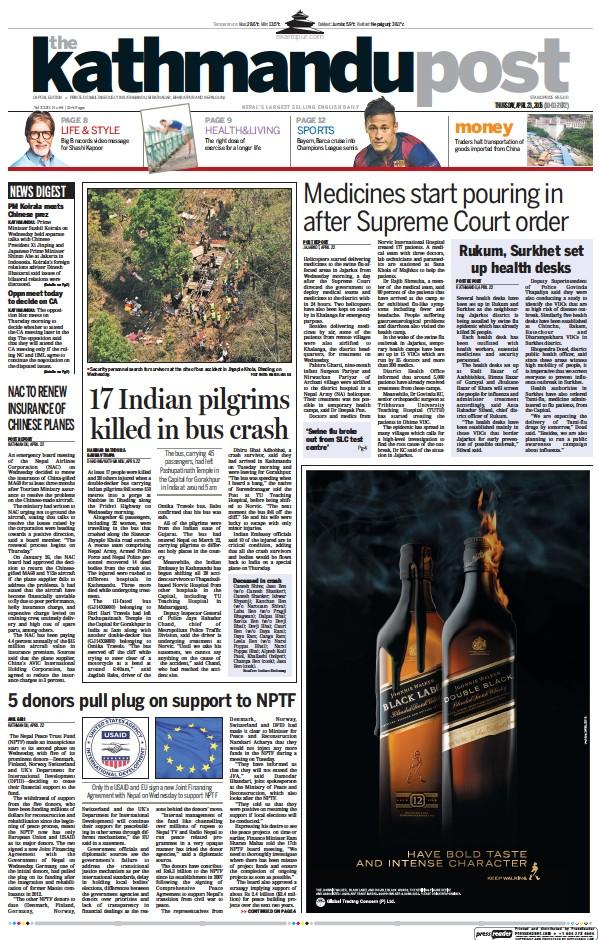 Read full digital edition of The Kathmandu Post newspaper from Nepal