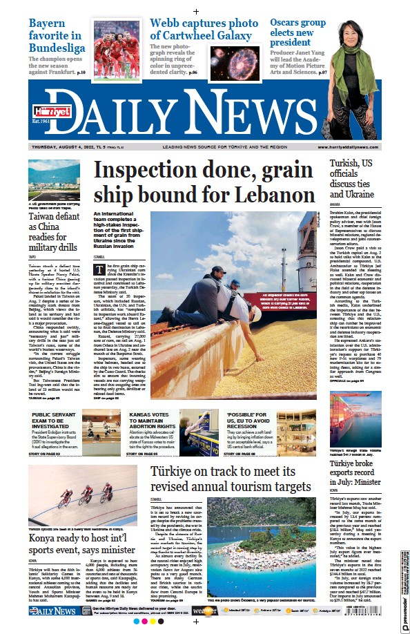 Read full digital edition of Hurriyet Daily News and Economic Review newspaper from Turkey