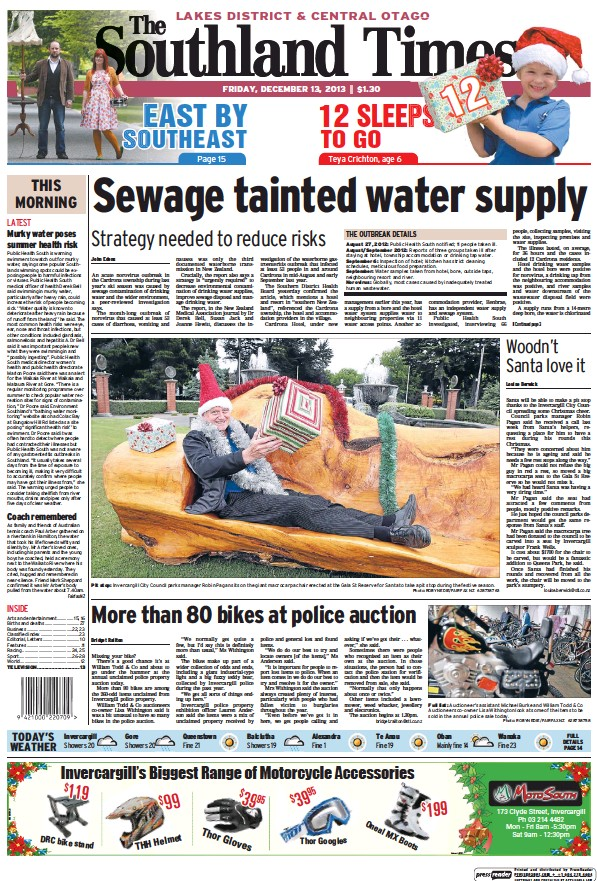 Read full digital edition of The Southland Times (Queenstown and Central Otago) newspaper from New Zealand