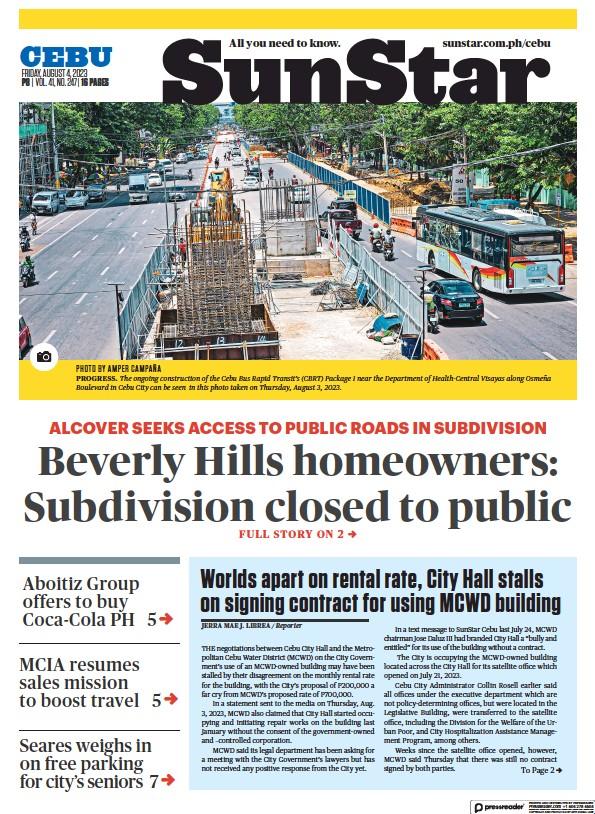 Read full digital edition of Sun.Star Cebu newspaper from Philippines